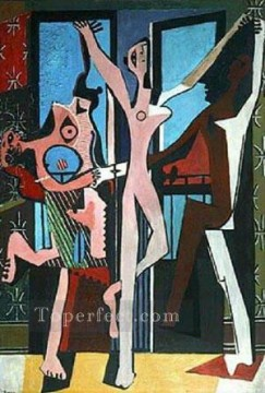 The Three Dancers 1925 Cubist Oil Paintings