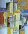 Violin and Guitar 1913 Cubist