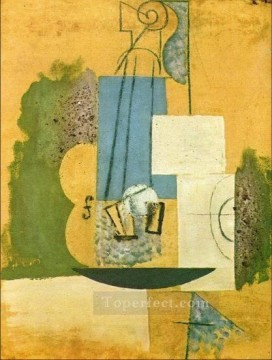 Violon 1913 Cubist Oil Paintings