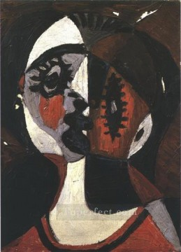 Visage 1 1926 Cubist Oil Paintings