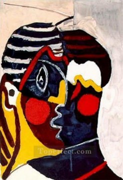 Visage Tete 1929 Cubist Oil Paintings