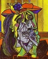 Weeping Woman 1937 Cubist