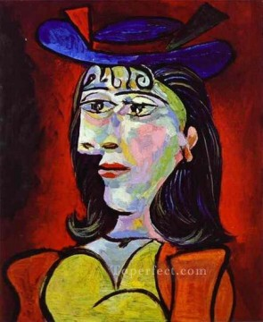 Buste de femme Dora Maar 4 1938 Cubist Oil Paintings