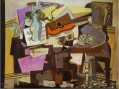 Nature morte 1942 Cubist