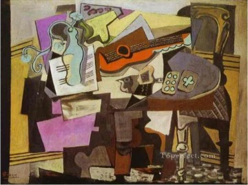 Nature morte 1942 Cubist Oil Paintings