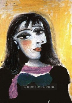 Portrait de Dora Maar 8 1937 Cubist Oil Paintings