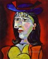 Portrait of a Young Girl 1938 Cubist