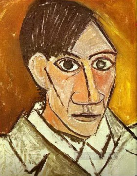 Self Portrait 1907 Cubist Oil Paintings