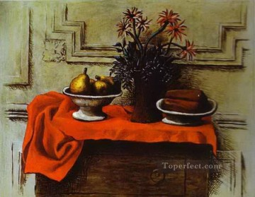 Still Life 1919 Cubist Oil Paintings