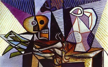 Still Life 1945 Cubist Oil Paintings