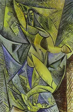 The Dance of the Veils 1907 Cubists Oil Paintings