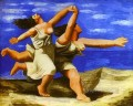 Women Running on the Beach 1922 Cubists