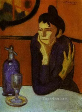 Cubism Painting - Absinthe Drinker 1901 Cubists
