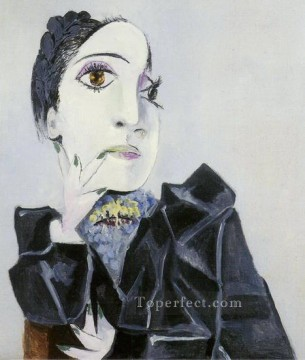 Famous Abstract Painting - Buste de Dora Maar 1 1936 Cubists