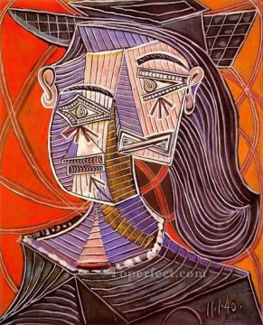 Buste de femme 1 1939 Cubists Oil Paintings