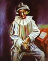 Pierrot 1918 Cubists