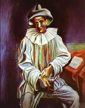 1918 Painting - Pierrot 1918 Cubists