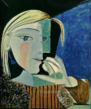 therese works - Portrait de Marie Therese 4 1937 Cubists