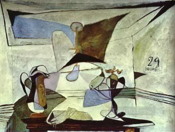 1936 Oil Painting - Still Life 1936 Cubists