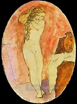 Tyalet 2 1906 Cubists Oil Paintings