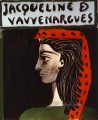 Jacqueline de Vauvenargues 1959 Cubists