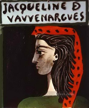 Jacqueline de Vauvenargues 1959 Cubists Oil Paintings