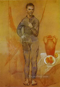 Juggler with Still Life 1905 Cubists Oil Paintings
