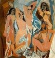 Les Demoiselles d Avignon The Young Ladies of Avignon 1907 Cubists