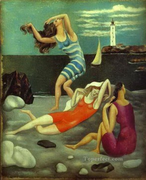 1918 Painting - The Bathers 1918 Cubists