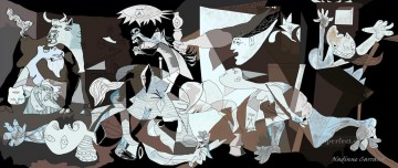 Guernica 1937 Cubists Oil Paintings