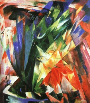 Famous Abstract Painting - Vogel Expressionism