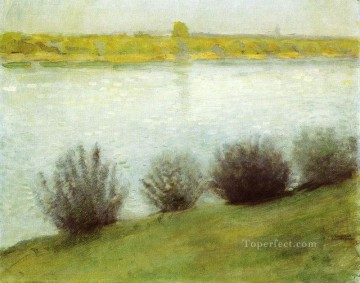 Famous Abstract Painting - The Rhine near Herzel Expressionist
