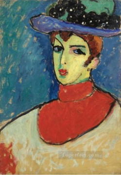Artworks in 150 Subjects Painting - RESI Alexej von Jawlensky Expressionism