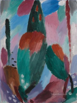 early Art - VARIATION EARLY WINTER II Alexej von Jawlensky Expressionism