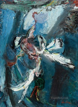 Artworks in 150 Subjects Painting - WHITE DUCK Chaim Soutine Expressionism
