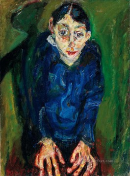 Artworks in 150 Subjects Painting - la folle man Chaim Soutine Expressionism