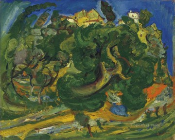 Artworks in 150 Subjects Painting - landscape of Midi Chaim Soutine Expressionism