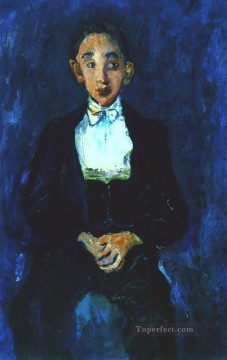Artworks in 150 Subjects Painting - the musician 2 Chaim Soutine Expressionism
