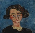 woman head Chaim Soutine Expressionism
