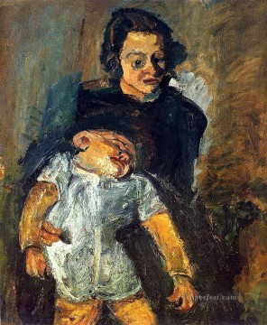 Artworks in 150 Subjects Painting - maternity 1942 Chaim Soutine Expressionism