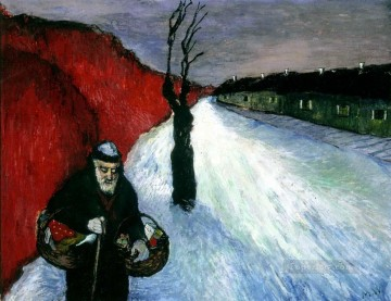 Artworks in 150 Subjects Painting - old man Marianne von Werefkin Expressionism