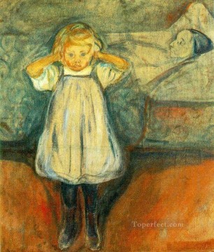 Artworks in 150 Subjects Painting - the dead mother 1900 Edvard Munch Expressionism