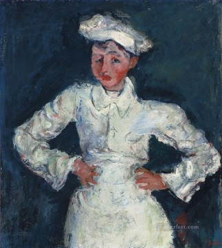 Artworks in 150 Subjects Painting - the pastry chef Chaim Soutine Expressionism