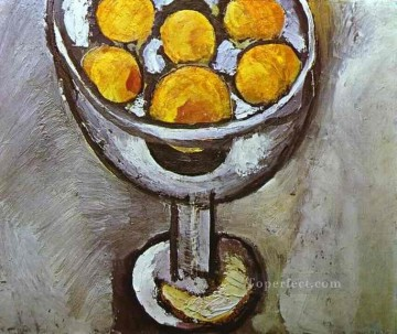 A vase with Oranges Fauvism Oil Paintings