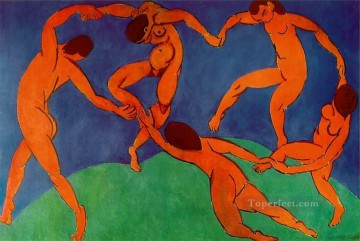 Dance II Fauvism Oil Paintings