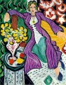 Femme au manteau violet Woman in a Purple Coat Fauvism