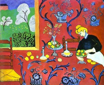 Fauvism Works - Harmony in Red Fauvism
