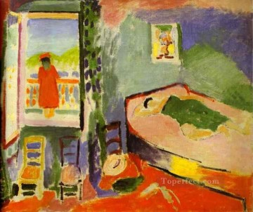 Interior at Collioure Fauvism Oil Paintings
