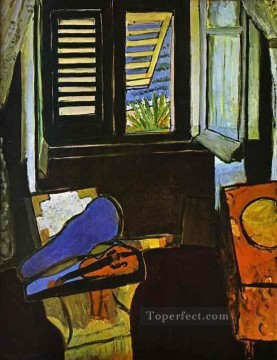 Fauvism Works - Interior with a Violin Fauvism