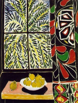 Fauvism Works - Interior with an Egyptian Curtain Fauvism